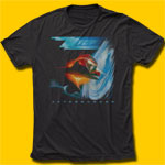 ZZ Top Afterburner Vintage Black T-Shirt