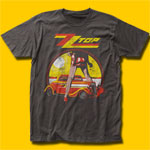 ZZ Top Legs Coal T-Shirt