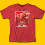 ZZ Top Deguello Heather Red T-Shirt
