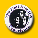 Jimi Hendrix Circle Jimi 1 Inch Button