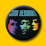 Jimi Hendrix Band Of Gypsys 1 Inch Button