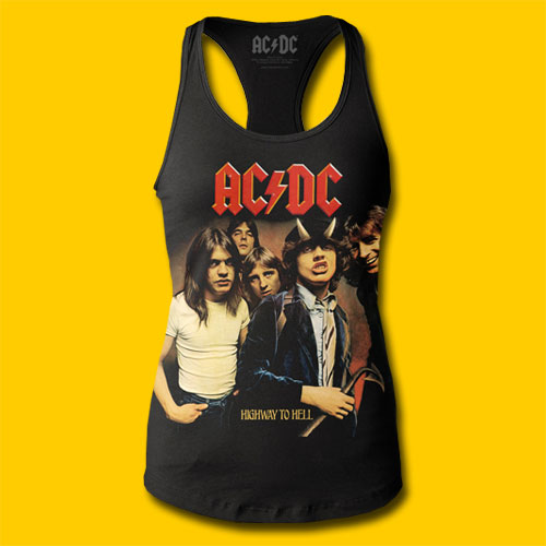 AC/DC Highway to Hell Girls Tank