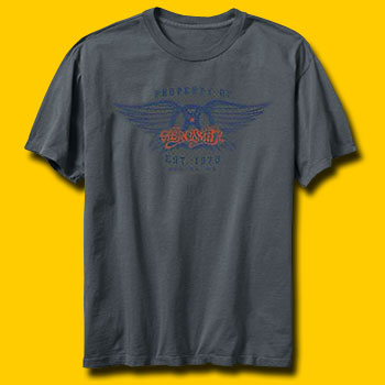 Aerosmith Athletic Logo T-Shirt