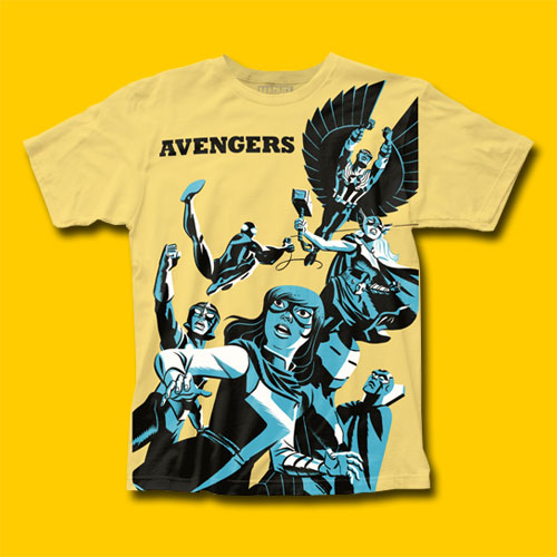 Avengers Michael Cho Design T-Shirt