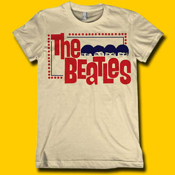 The Beatles Stare Girls Extra Lightweight Tee