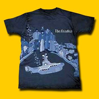 fc7d213f The Beatles Below Sea Level Extra Lightweight T-Shirt