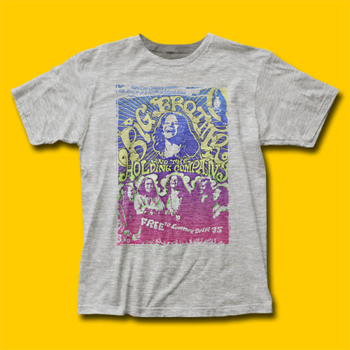 Big Brother and the Holding Company Vintage Handbill Rock T-Shirt