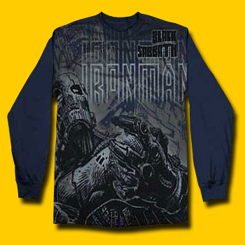 c37723081bc Black Sabbath Iron Man Long Sleeve T-Shirt