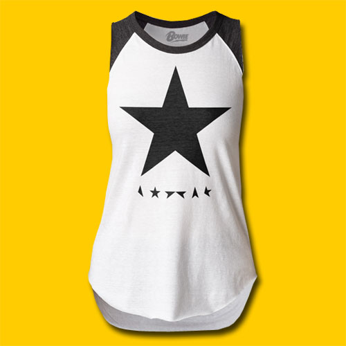 David Bowie Blackstar Girls Cut Raglan