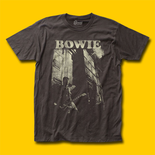David Bowie Guitar Rock T-Shirt