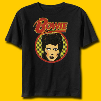David Bowie Warhol Rock T-Shirt