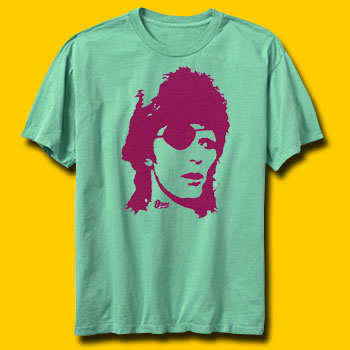David Bowie Pirate Blue Vintage Rock T-Shirt