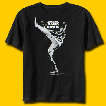 David Bowie The Man Who Sold The World Rock T-Shirt