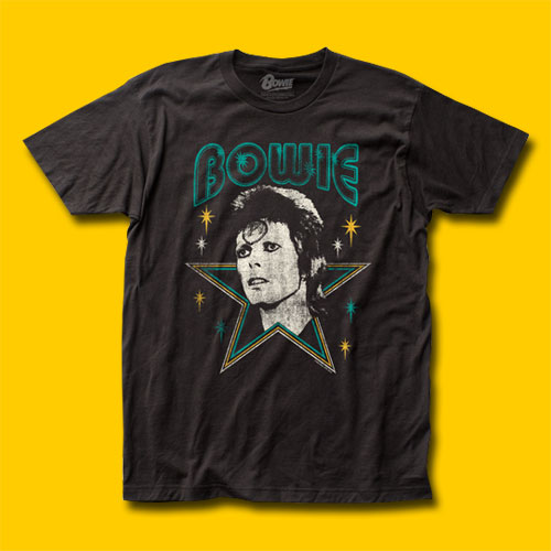 David Bowie Stars Rock T-Shirt