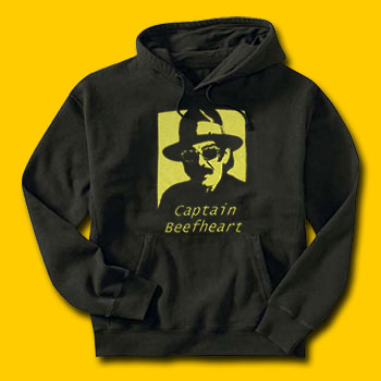 Captain Beefheart Rock Hooded Sweatshirt