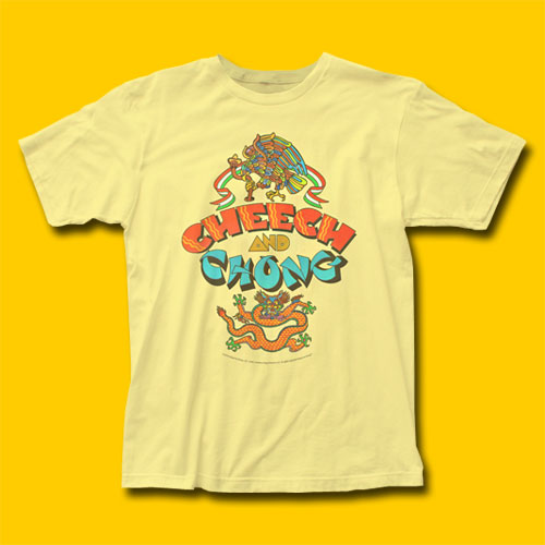 3f7ed87fe Cheech & Chong Album Yellow T-Shirt