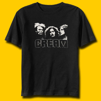 Cream Classic Rock T-Shirt
