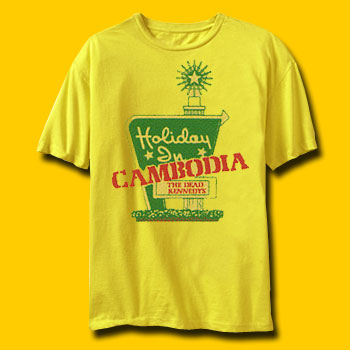 Dead Kennedys Holiday In Cambodia Rock T-Shirt