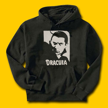 Dracula Classic Movie Hooded Sweatshirt