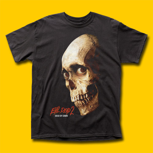 Evil Dead 2 Color Poster Movie T-Shirt