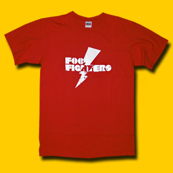 Foo Fighters Red T-Shirt