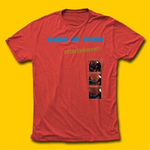 932b0aa872e Gang of Four Entertainment! Punk Rock T-Shirt