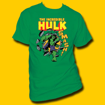 Hulk The Incredible Hulk Smash! T-Shirt