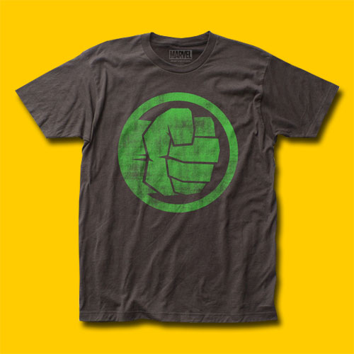 Hulk The Incredible Hulk Fist Bump T-Shirt