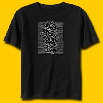 Joy Division Unknown Pleasures Jersey T-Shirt