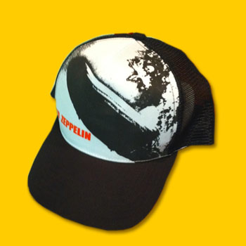 Led Zeppelin - Zeppelin Design Baseball Cap 34b9af748b53
