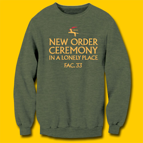 New Order Ceremony Army Heather Sweatshirt
