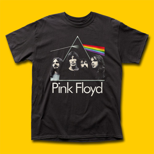 Pink Floyd The Dark Side of the Moon with Band Classic Rock T-Shirt