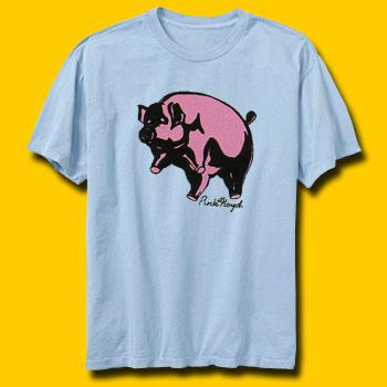 Pink Floyd Animals Blue T-Shirt
