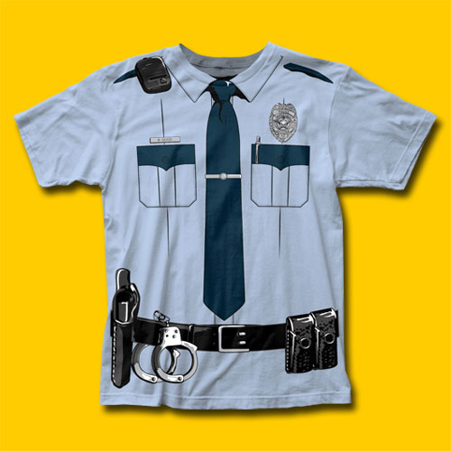 Police Johnny Law T-Shirt
