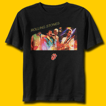 The Rolling Stones on Concert Classic Rock T-shirt