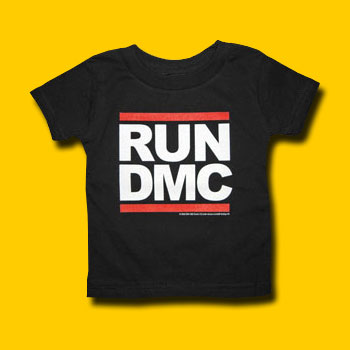 Run DMC Logo Toddler T-Shirt