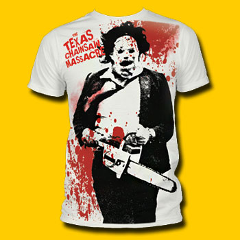 Texas Chainsaw Massacre Spatter T-Shirt