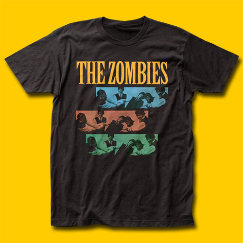 The Zombies Shennanigans Black T-Shirt
