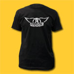 Aerosmith Logo Coal T-Shirt
