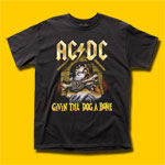 AC/DC Givin The Dog A Bone Rock T-Shirt