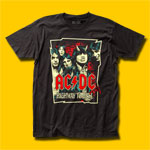 AC/DC Illustration T-Shirt