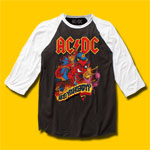 AC/DC Are You Ready? Rock Baseball Jersey