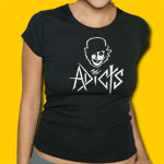 Adicts Logo Girls Jersey Tee