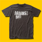 Against Me! Logo Punk Rock T-Shirt