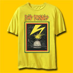 Bad Brains Banned In DC Yellow Rock T-Shirt