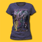 Syd Barrett Diamond Girls Soft Fitted 30/1 Tri-Blend Tee