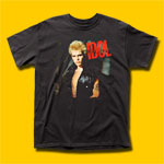 Billy Idol Black T-Shirt