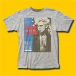 Billy Idol White Wedding Heather Grey T-Shirt