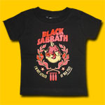 Black Sabbath I'm Not Afraid Toddler T-Shirt