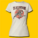 Black Widow Run Girls Marvel T-Shirt